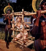 art from White Slave by peterpulp