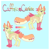 CaffeineCanine Design Trade by Late-Night-Cannibals