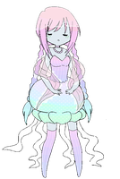Jellyfish Princess by JellieBellie