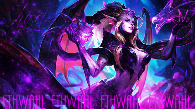 Dragon Sorceress Zyra Background by Ethwahl