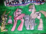 Happy Birthday Backstitch! by Loves-To-Derp