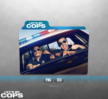 Let's Be Cops - Folder Icon by Naif1470