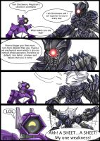 G1 VS Bayformers : Shockwave by MikeOrion