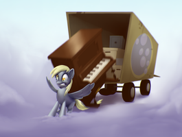 Derpy Deliveries part 5 by MoonlitBrush