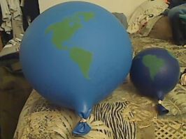 gummiwerks 48 inch and Q tex 36 inch balloons by billoon45