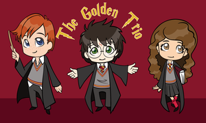 The Golden Trio by chaoticteapot