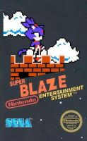 Fake Blaze The Cat NES Game by MoonlitFlames