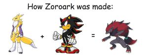 how Zoroark was made by RKCrystalSoul