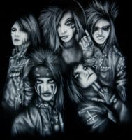 Black Veil Brides T-Shirt by Jackolyn