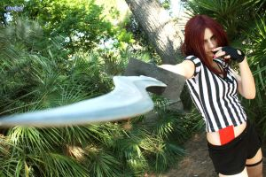 Katarina- the Warrior Referee by jessicacicca