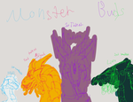 Monster buds by XxEvias-Toxic-LovexX