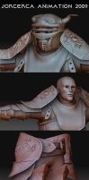 character for my short film 3D by jorcerca