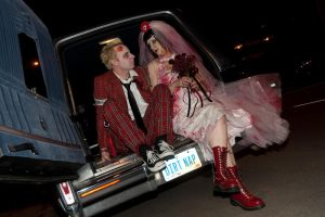 Punk Rock Zombie Wedding by Cinestress
