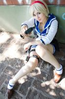 Sherry Birkin The mercenaries costume by Grichu-Ada-Kinney