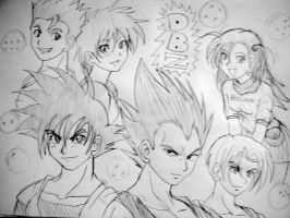 Dragon Ball Z by ViperXTR