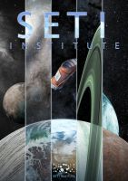 SETI Institute Poster by spoonbard