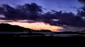 Night Falls on Conwy by Aconitum-Napellus
