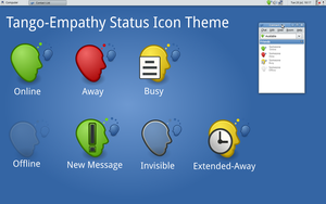 Tango-Empathy Status Icons by half-left