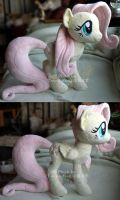 Fluttershy plush 1 by hystree