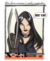 X 23 Marvel comics by celaoxxx