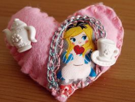 Alice Brooch by AndyGlamasaurus