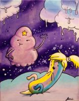 LSP and Jake Jr. by Temporalvisions