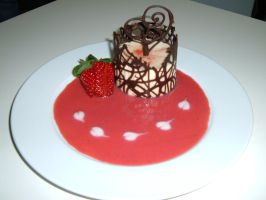 Dessert Champagne-Strawberry by RinAJ