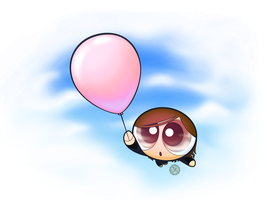 Prize: Pink Balloon by JKSketchy