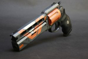 Destiny Hand Cannon Prop- The Devil You Know by zanderwitaz