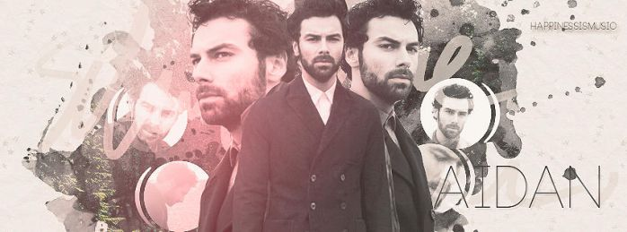 Aidan Turner portada by HappinessIsMusic