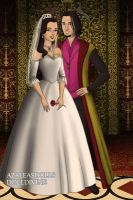 Clopin and Belle Wedding by lovepeacebubble121x