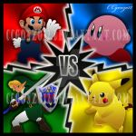 Super Smash Bros Melee by CCgonzo12