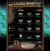 Jans Jewelry website design by Stephen-Coelho