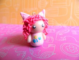 Pinkie Pie Chibi Girl Charm by Xiiilucky13
