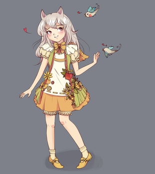 OC Contest Entry - Layla by nucchiin