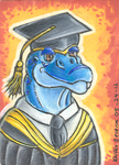 Tankaa Graduate ACEO by Zalcoti