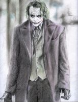 joker by EstebanRiveros
