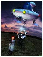 12-04-26 The X-Fools: Mulder's Abduction by aldemps