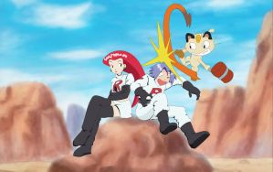 Team Rocket by kayafulmaniac