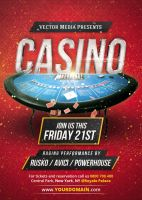 Casino - Flyer by VectorMediaGR
