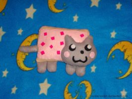 Nyan Cat Plush by collarander