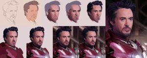 Iron Man Process by Meepel