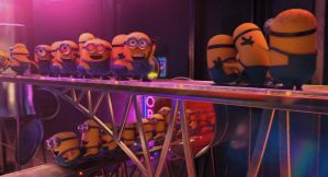 Despicable Me 2 gif - Dancing minions by Nutty-Nutzis