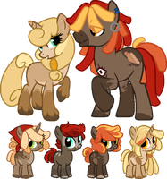 Breedable 1  Kao Ko / Runner Rig by FossilFoal