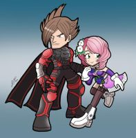 Lars and Alisa by SandikaRakhim