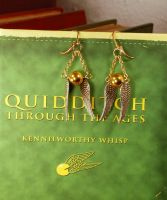 Medium Snitch Earrings by kittykat01