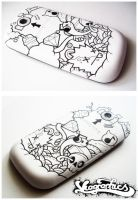 Phone Case: Mobile Graffiti by Viagraphics