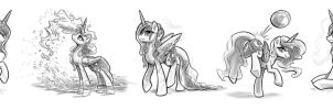Luna Sketches #2 by KP-ShadowSquirrel