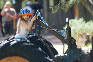 Tractor ride by stockmichelle