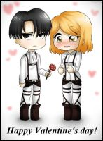 [Levi + Petra] Happy V~day by KakuzuFreak